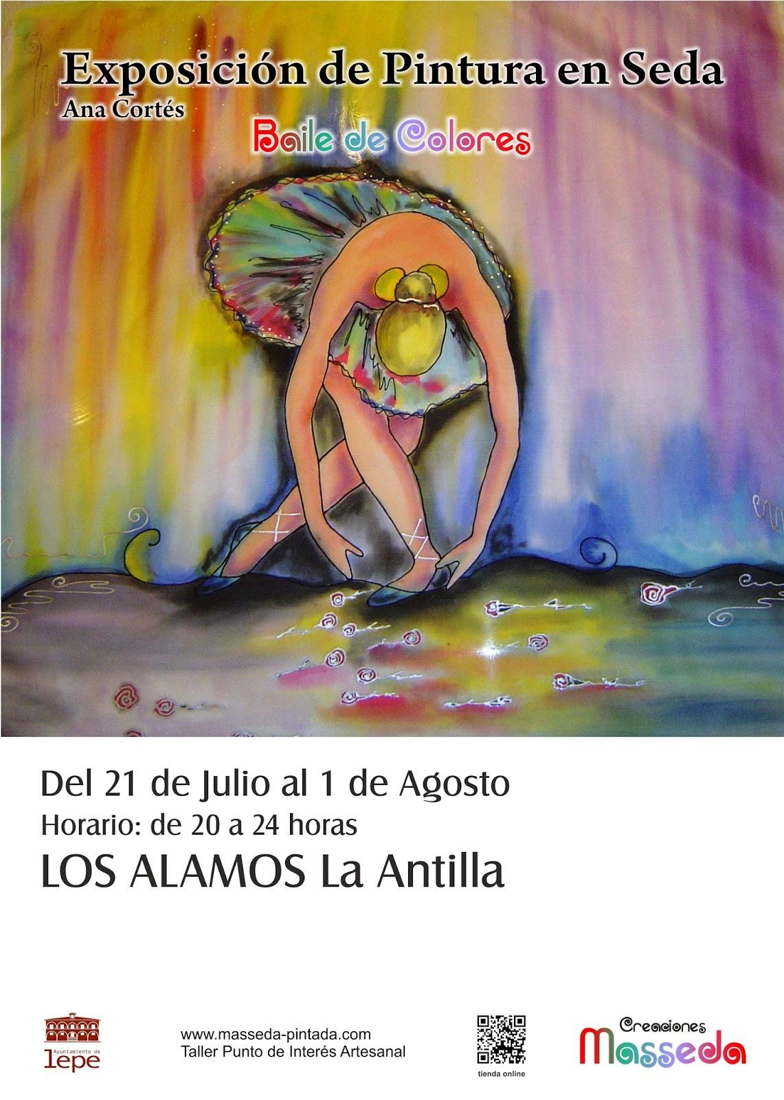 """Exposición """"Baile de Colores"""" en La Antilla (Lepe)"""