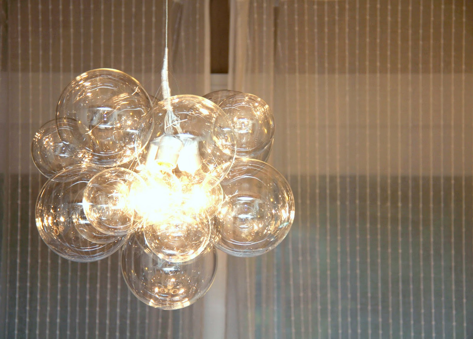 Bubble Ball Chandelier