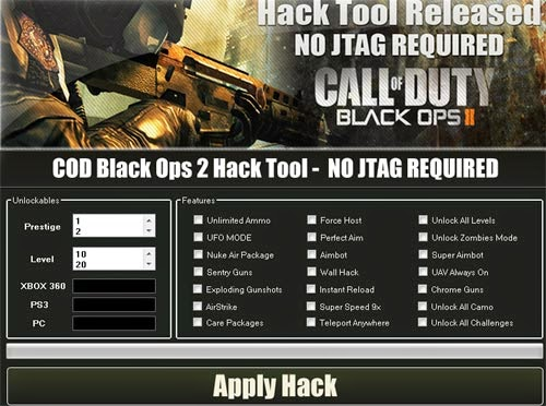 Download free COD Black Ops 2 Aimbot + Wallhack