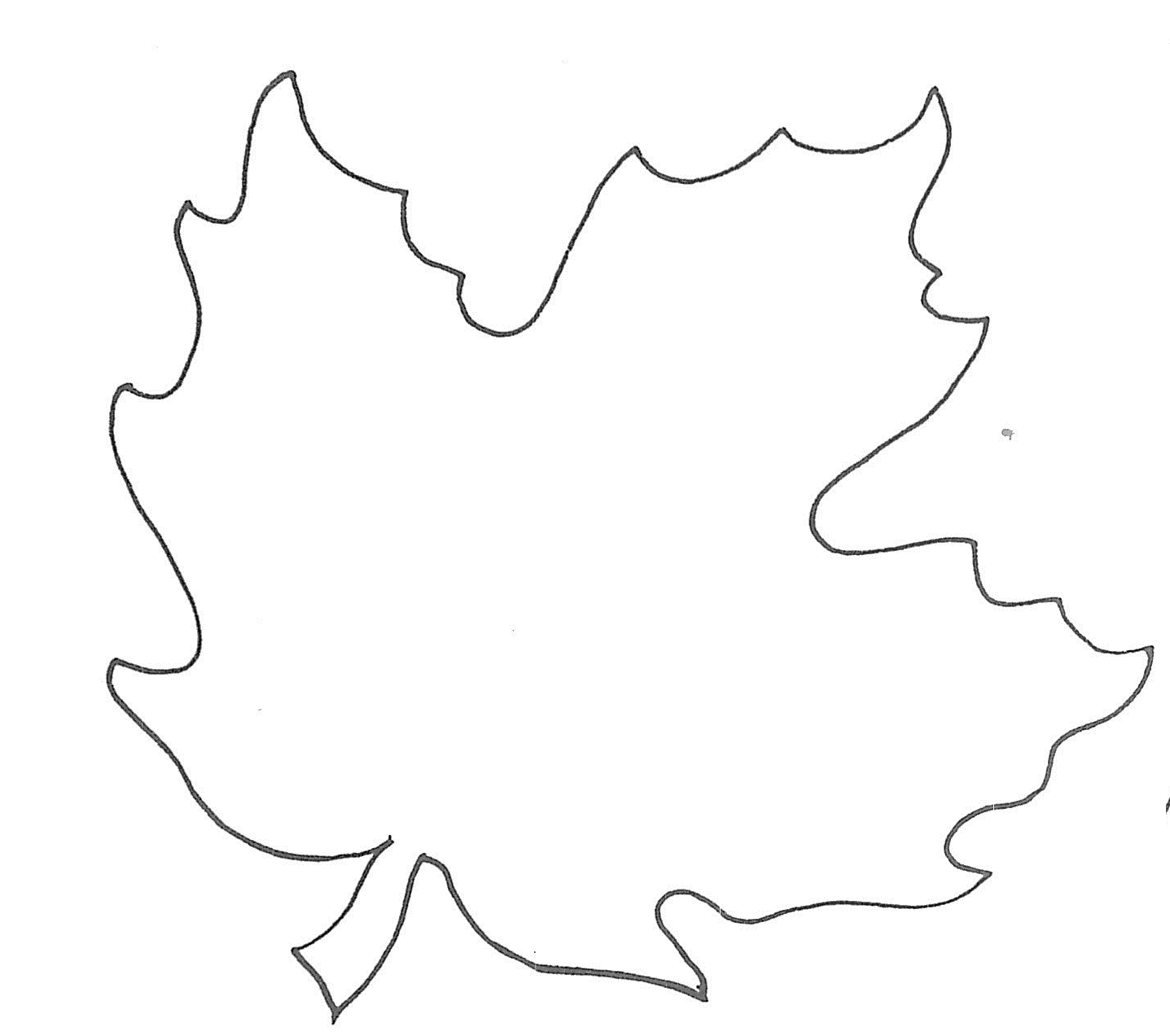 It is a photo of Agile Printable Leaf Patterns