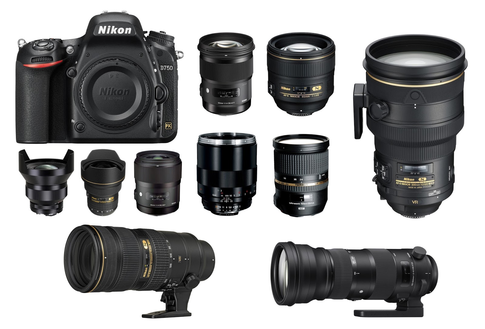 Canon EOS 7D Mark II vs. Nikon D750 a nonstop competition ~ Smart ...