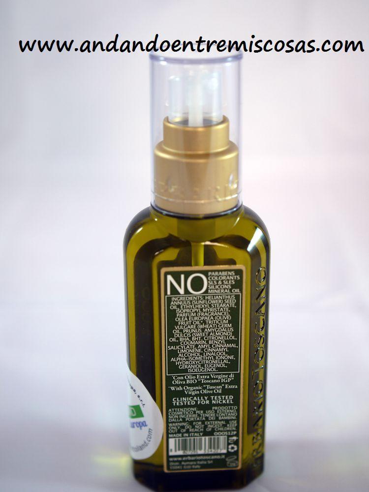 Aceite Seco Corporal Efecto Seda Elisir d'Olivo