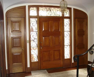 Entry doors with sidelights cheap exterior doors for Cheap exterior doors