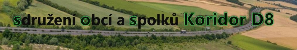 Koridor D8 - sdružení obcí a spolků