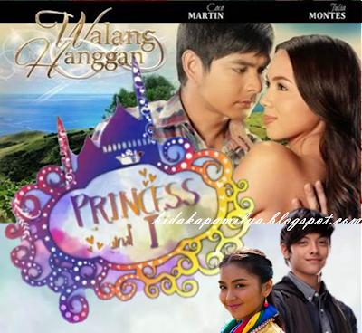 Walang Hanggan and Princess and I, two top-rating Kapamilya teleseryes