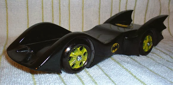 The Batmobile Show Diy Batmobile Pinewood Derby Cars