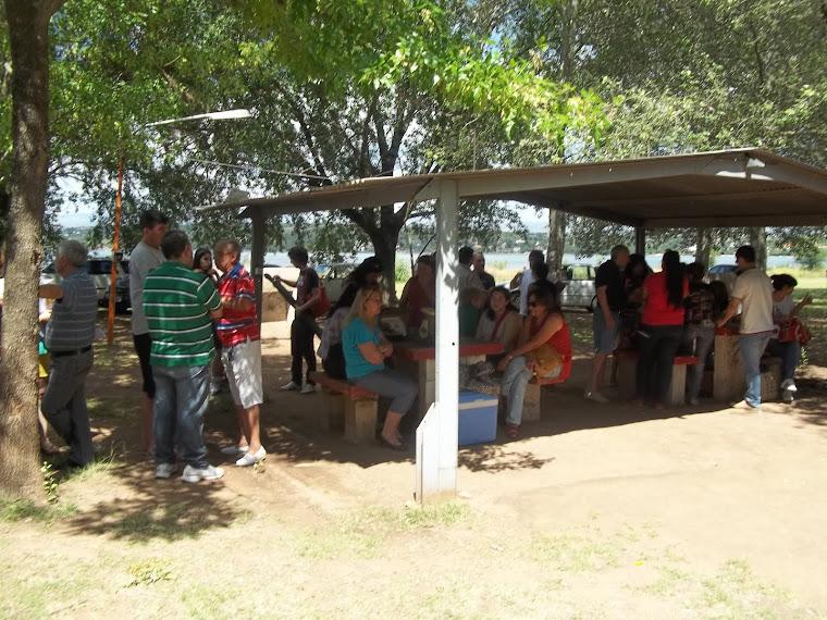 ASADO EN EL CAMPING