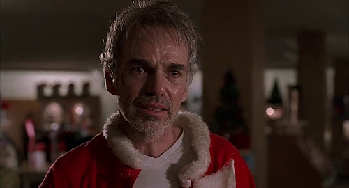 Screen Shot Of Hollywood Movie Bad Santa (2003) In Hindi English Full Movie Free Download And Watch Online at worldfree4u.com
