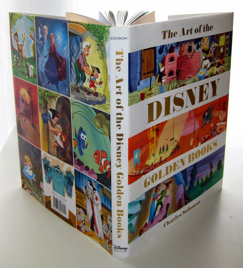 the front cover of Disney Editions book The Art of Disney Golden Books