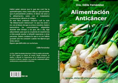 Libro Alimentación Anticáncer. Dr. Odile Fernández.