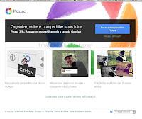 imagem da página do Picasa na internet