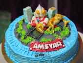 Utraman cake