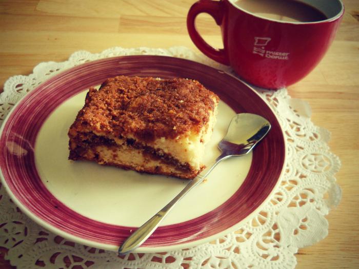 Streusel Crumb Coffee Cake Recipe