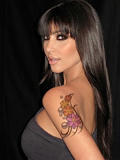 Kim Kardashian Tattoos - Celebrity Tattoo Design Ideas