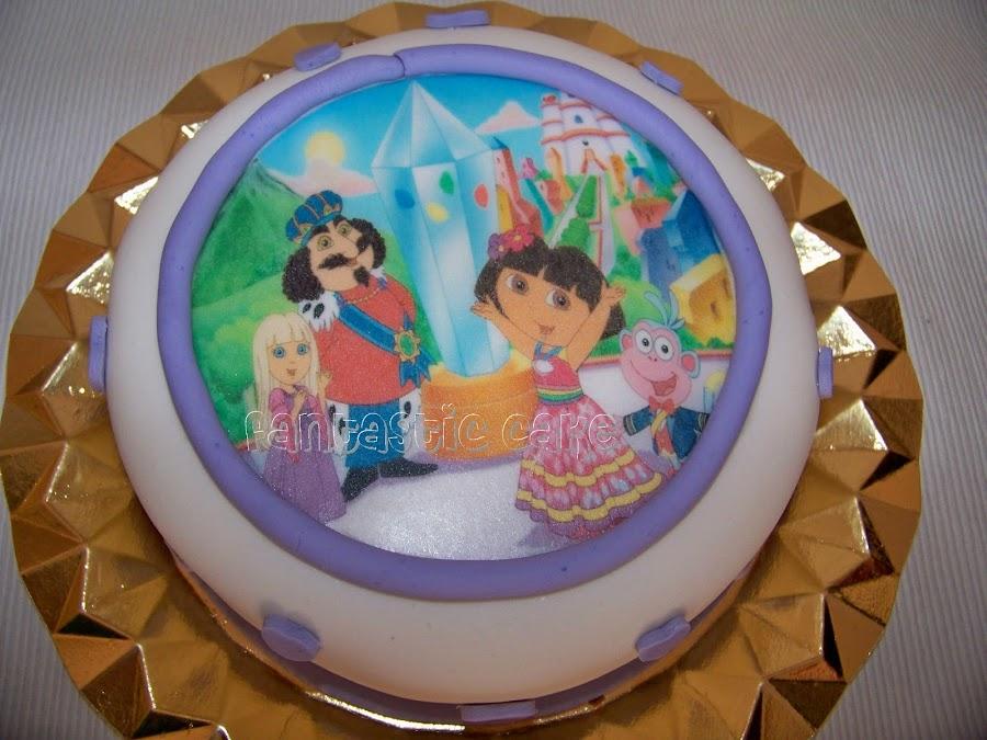 Tarta de dora la exploradora cocina - Dora la exploradora cocina ...