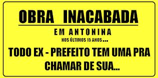 """A FARRA DAS """"INACABADAS"""""""