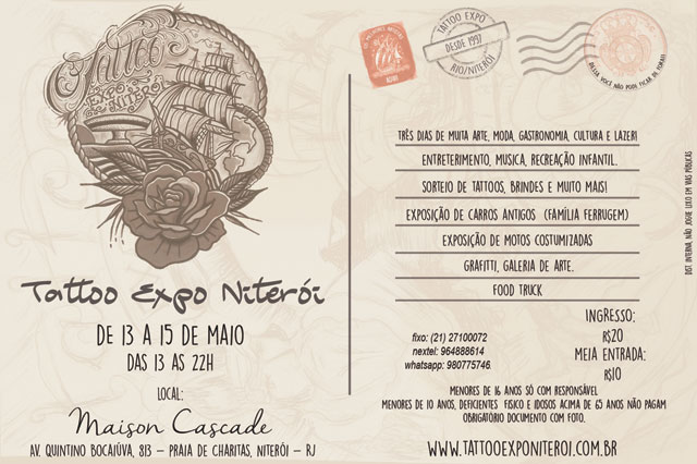 Te esperamos na Tattoo Expo!