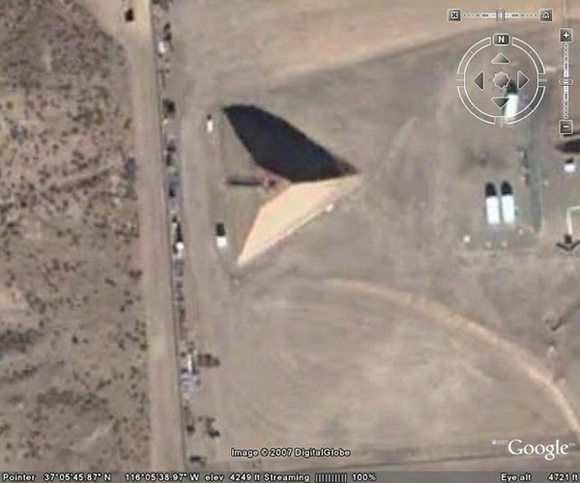 Pirámide en el Área 51?