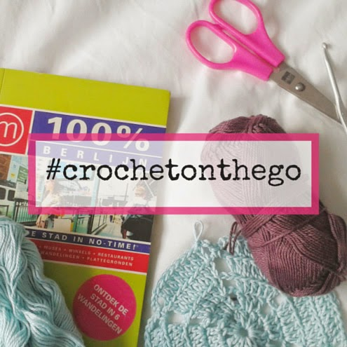 #crochetonthego | Happy in Red