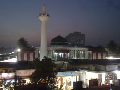 Night View New Market Mosque