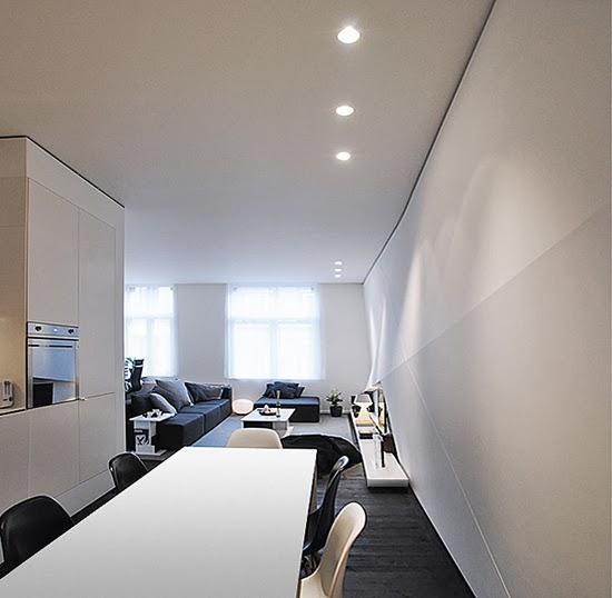 Ilia Estudio Interiorismo Minimalista Apartamento En