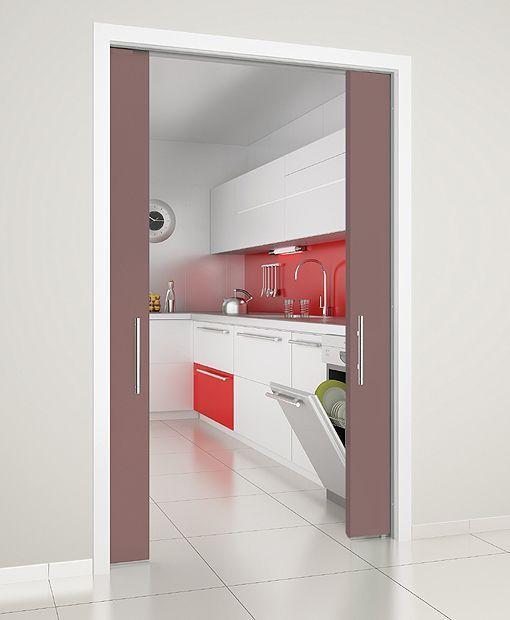 Marzua puertas correderas en la cocina de krona - Puertas correderas krona ...
