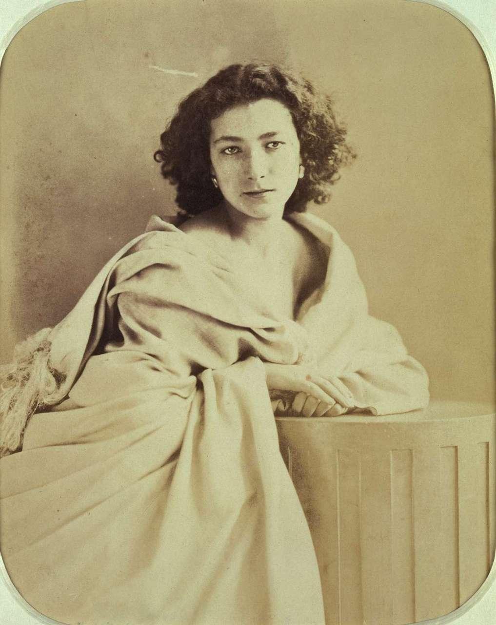 Vintage Photography Sarah Bernhardt