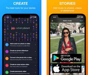 Cross Platform App of the Month - Storybeat
