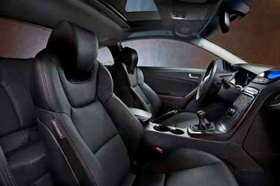 2011 Hyundai Genesis Coupe dashboard