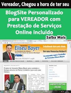Vereador, Saiba como ter um Blog Personalizado para seu Mandato de Vereador