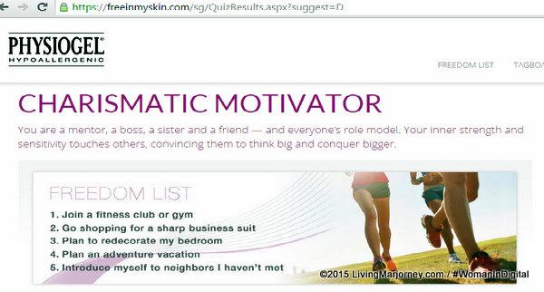 Physiogel Free In My Skin Website