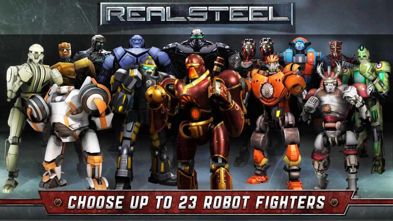 Real Steel World Robot Boxing v7.7.141 APK Mod