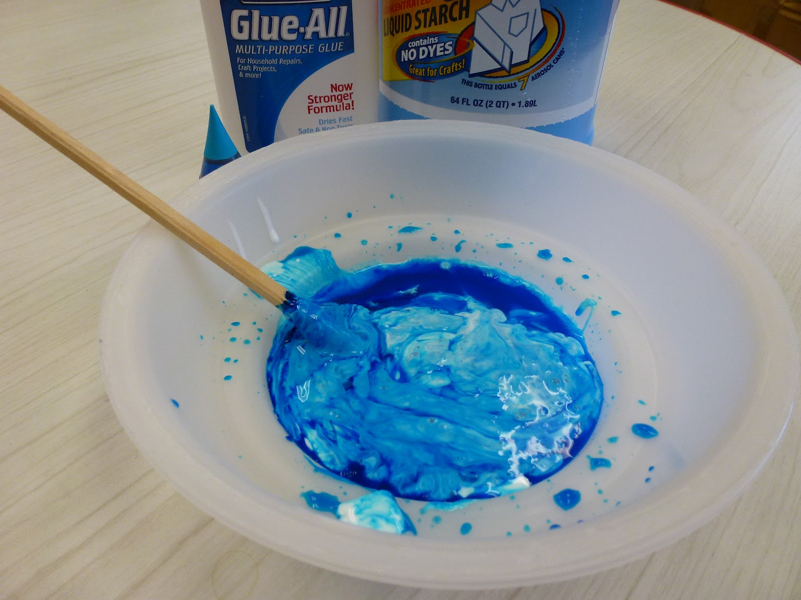 how to make clear silly putty