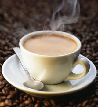 Boliche cafetería Miguel.  Cafe_humeante