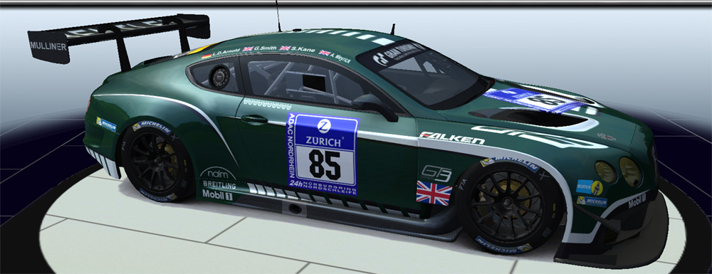 speedster63 gtr2 gtlegends bentley continental gt3 eec gt3 v3 0 mod addon. Black Bedroom Furniture Sets. Home Design Ideas