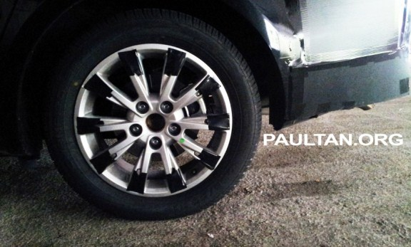 gambar baru proton persona p3-21a sport rim tyre