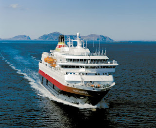 Hurtigruten's Nordnorge is a typical Norewgian Coastal cruiser