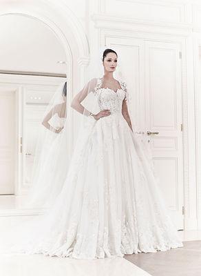 Zuhair murad gelinlik modelleri lkbahar yaz 2014 gece for Zuhair murad 2014 wedding dresses