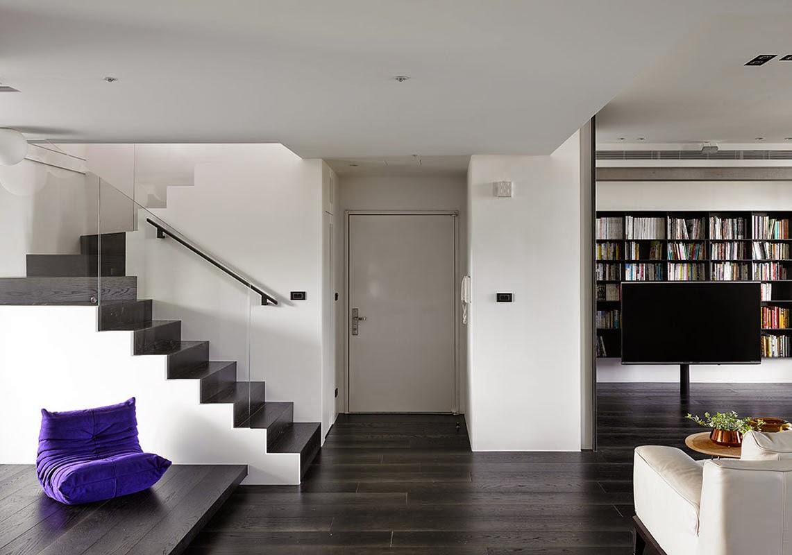 Ilia estudio interiorismo dise o interior en duplex de taiwan - Duplex de diseno ...