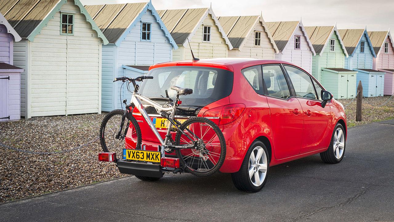 Vauxhall Meriva rear