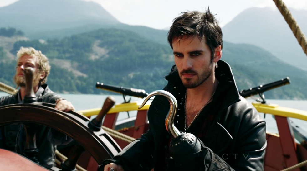 Colin O'Donoghue Captain Hook Once Upon A Time Crocodile Killian Jones