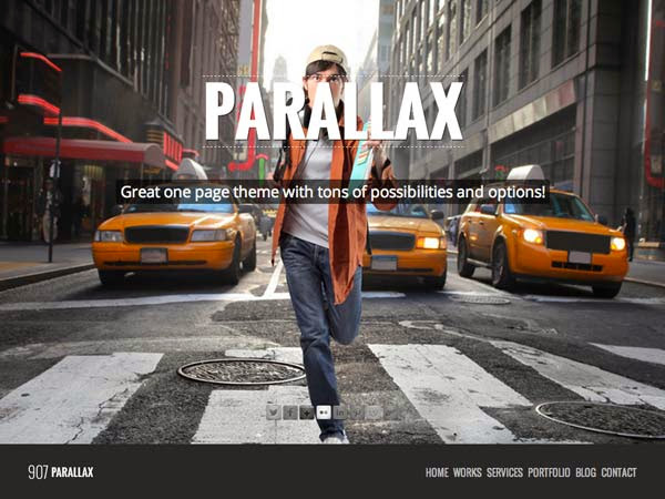 907 – Responsive WP One Page Parallax