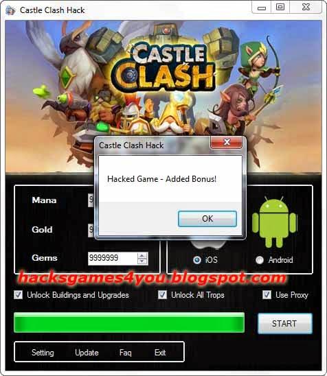 Castle Clash Hack Tool ~ Hacks Games For You