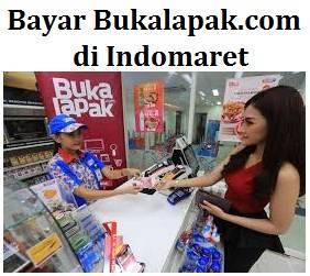 Bayar Bukalapak.com di Indomaret