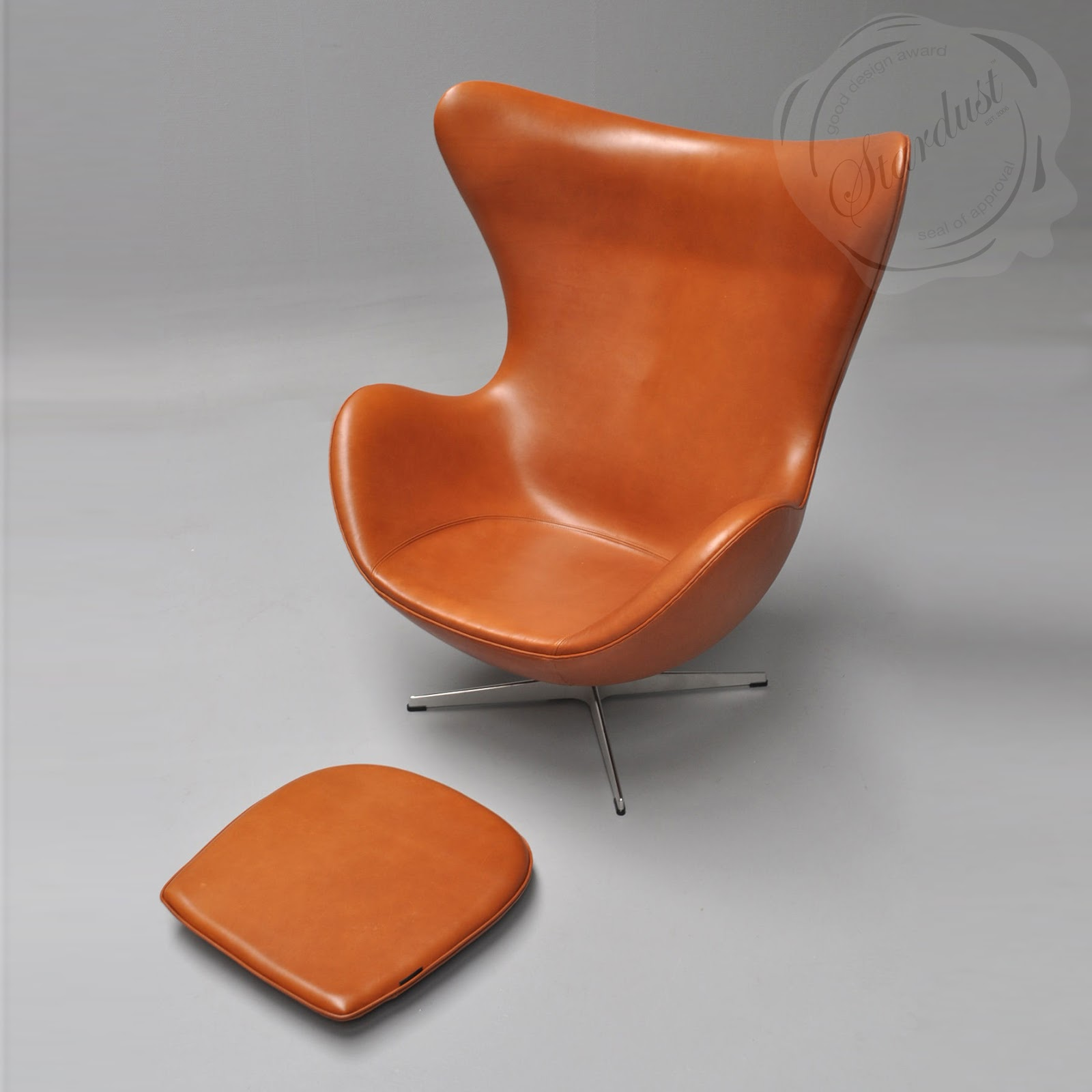 Arne jacobsen egg chair leather - Bomber Jacket Leather Egg Chair With Tiltlock Mechanism Zb21gg Modern Interior Design