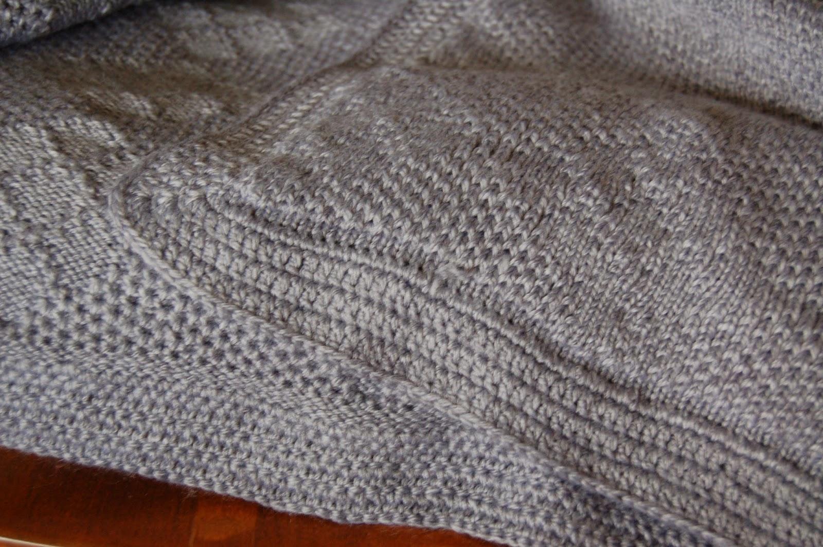 Dolly Creates: Tuck Stitch Afghan (Knitting Machine)
