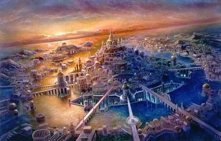 Kerajaan Kandis adalah Atlantis