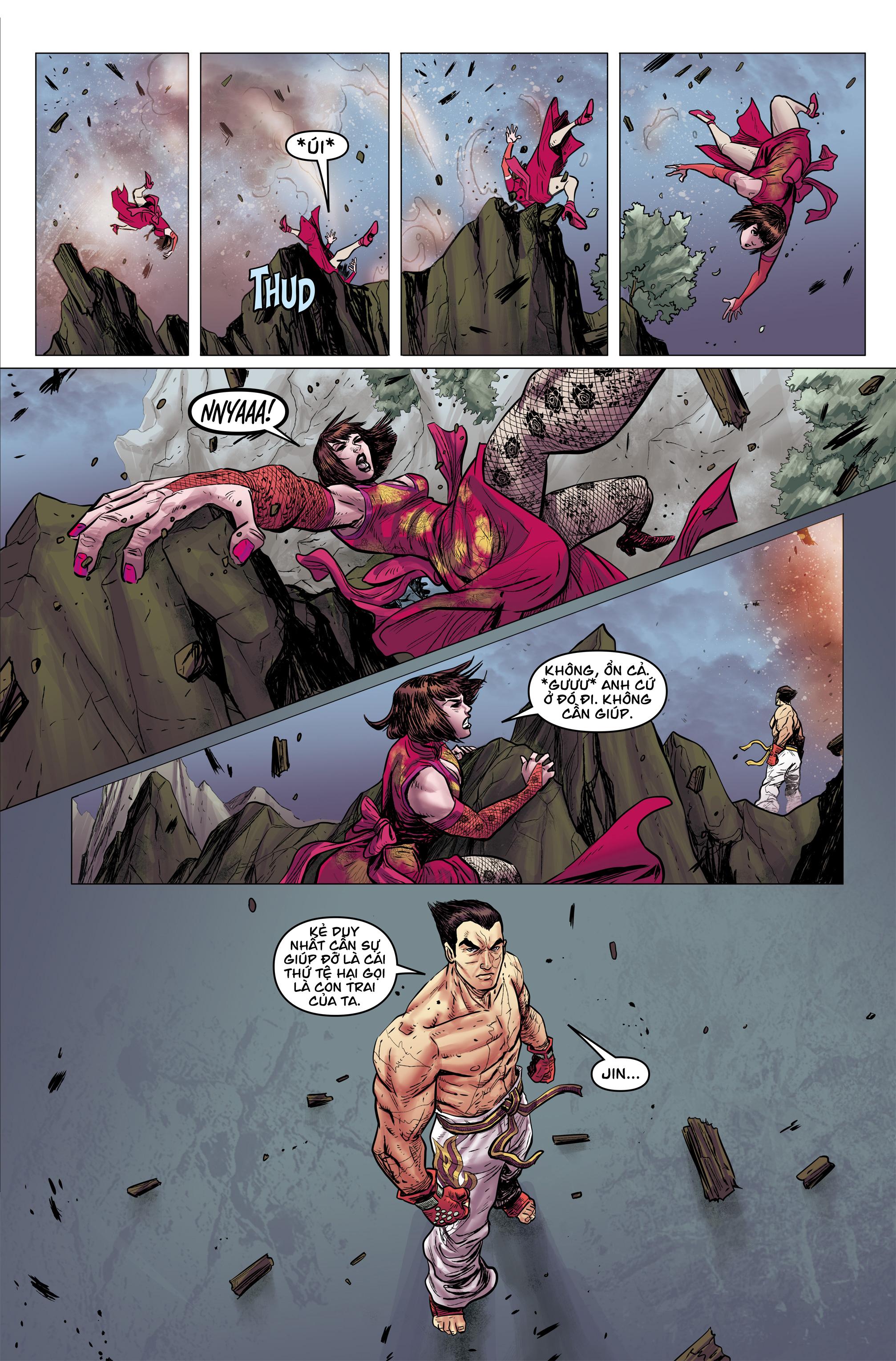 Tekken - Thiết Quyền Chapter 2b - Hamtruyen.vn