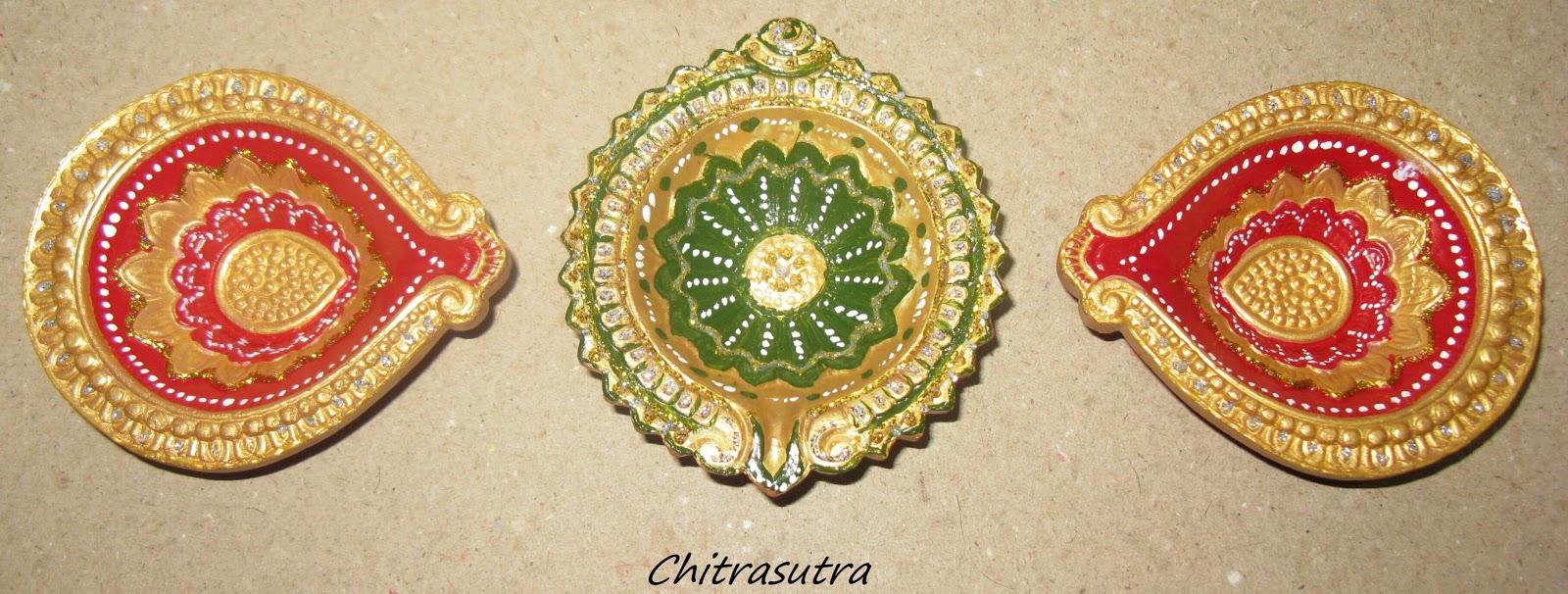 Chitrasutra Painting Diyas For This Diwali