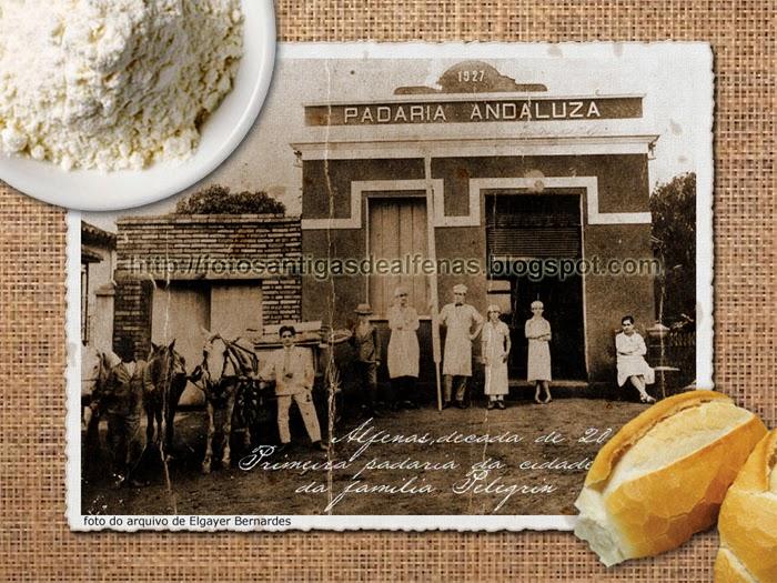 Primeira padaria de Alfenas